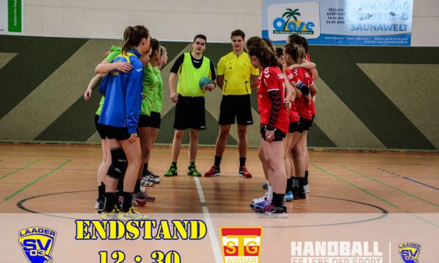 Laager SV 03 Handball wJA | 1. Spieltag | Bezirksliga West