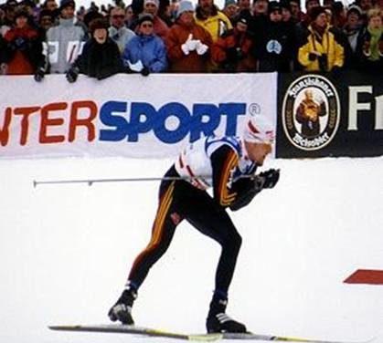 Olympischer Blick zum Skisport
