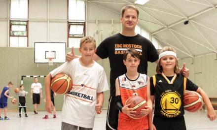 Malte Haedecke erweitert Trainerstab des EBC Rostock