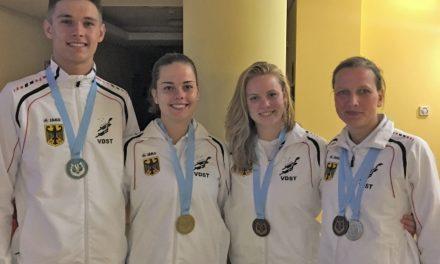 Fünf Medaillen für VDST-Orientierungstaucher bei der EM
