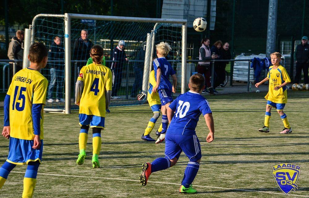 Laager SV 03 D-Junioren | 4. Spieltag | Kreisliga