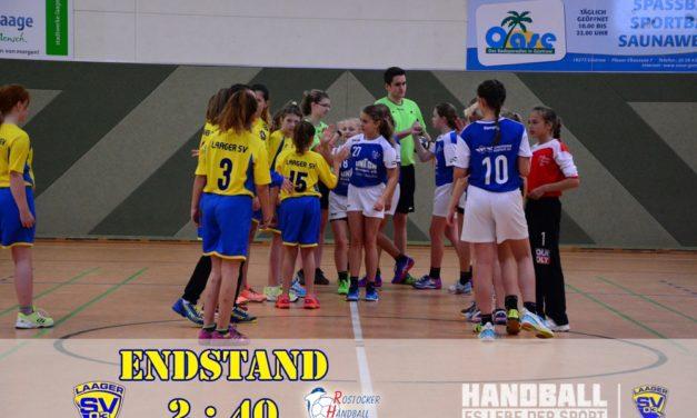 Laager SV 03 Handball wJD | 3. Spieltag | Bezirksliga Nord