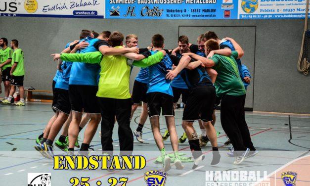 Laager SV Handball Männer | 2. Spieltag | Bezirksliga Nord
