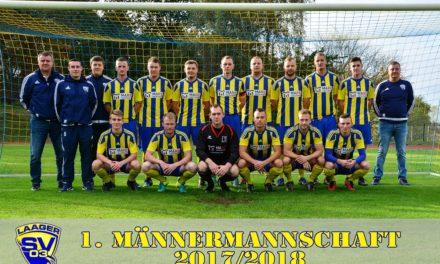SV Hafen Rostock: Laager SV 2:2 (1:0)