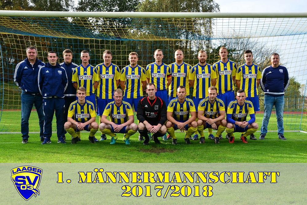 Laager SV 03 1. Männermannschaft