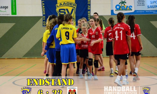 Laager SV 03 | Handball wJD | 4. Spieltag | Bezirksliga