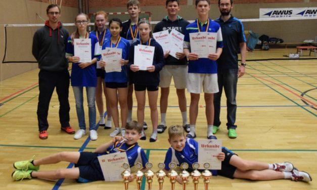 Schweriner Badmintonnachwuchs überzeugt bei Titelkämpfen