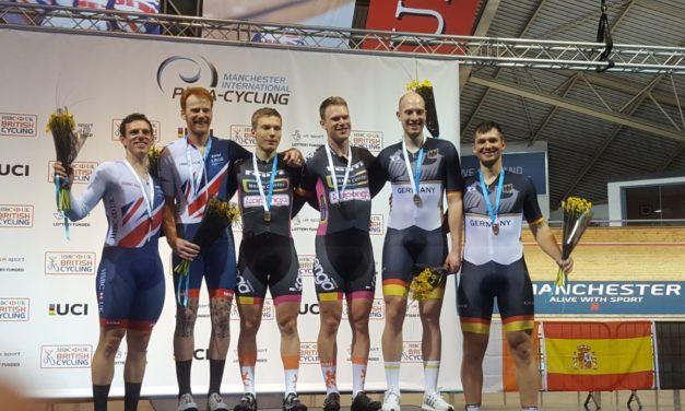 Bronze beim Paracycling-Weltcup für Schweriner Duo