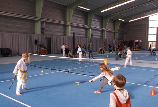 Sportliches Schwerin mit sportiven Kindern
