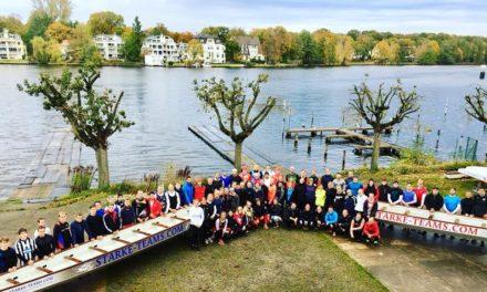 Nationalteam trainiert auf der Holzhalbinsel