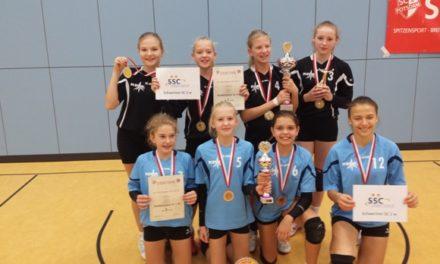 Schweriner SC überaus erfolgreich beim U13 Cup in Potsdam