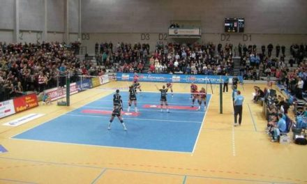 Volleyball-Europapokal in Schwerin