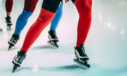 Short Track-Abschlußtag und Geburtstag einer Eisschnellläuferin