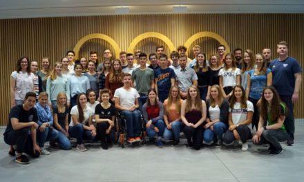 Startschuss für das Deutsche Olympische Jugendlager 2018
