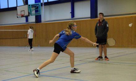 Schwerins Badmintonnachwuchs zweimal auf dem Podest