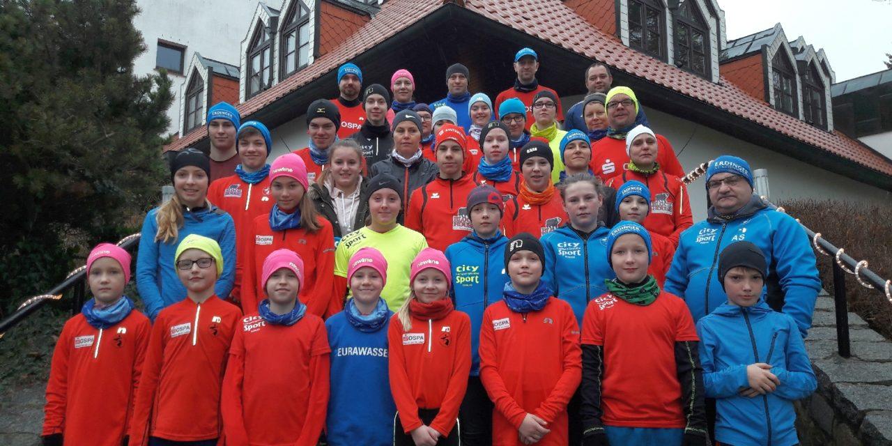 Wintertrainingslager auf der kalten Insel Usedom