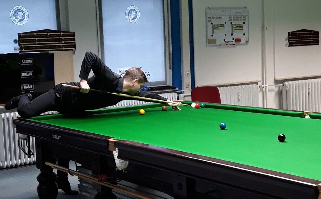 5. Platz beim Bundes-Team-Pokal Snooker