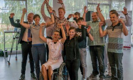 Empfang für erfolgreiche Para-Sportler in Rostock