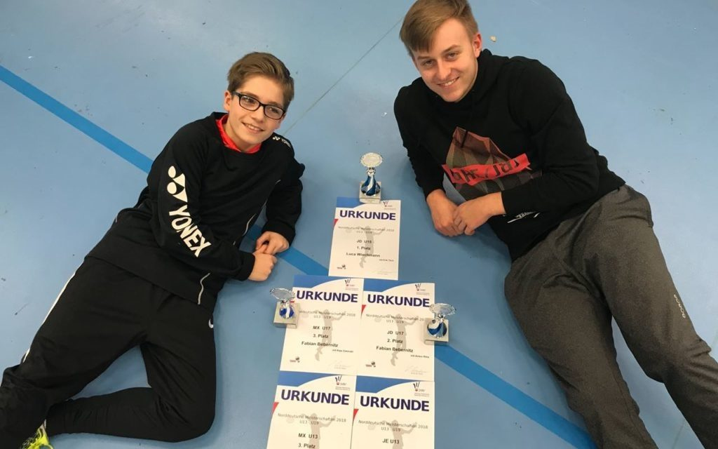 Fabian Bebernitz holt Bronze und Silber auf Norddeutscher Meisterschaft