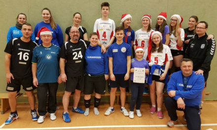 Weihnachts-Volleyballturnier