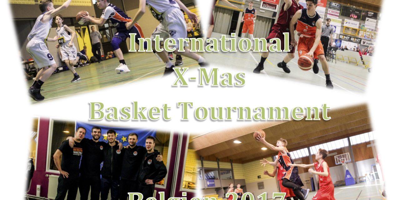 "EBC Jugend überzeugt beim ""International X-mas BASKET tournament 2017"" in Belgien"