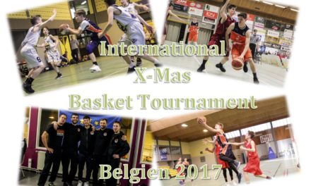 "EBC Jugend überzeugt beim ""International X-mas BASKET tournament 2017"" in Belgien"