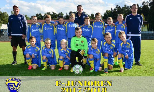 E-Junioren des Laager SV 03 . . .