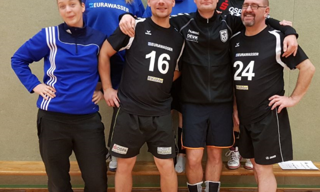 Laager Volleyballer siegen!