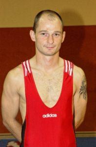 Ringer Stefan Pentschew vom SV Warnemünde in der Saison 2003/2004.