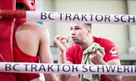 Alles auf Anfang beim Boxclub TRAKTOR Schwerin