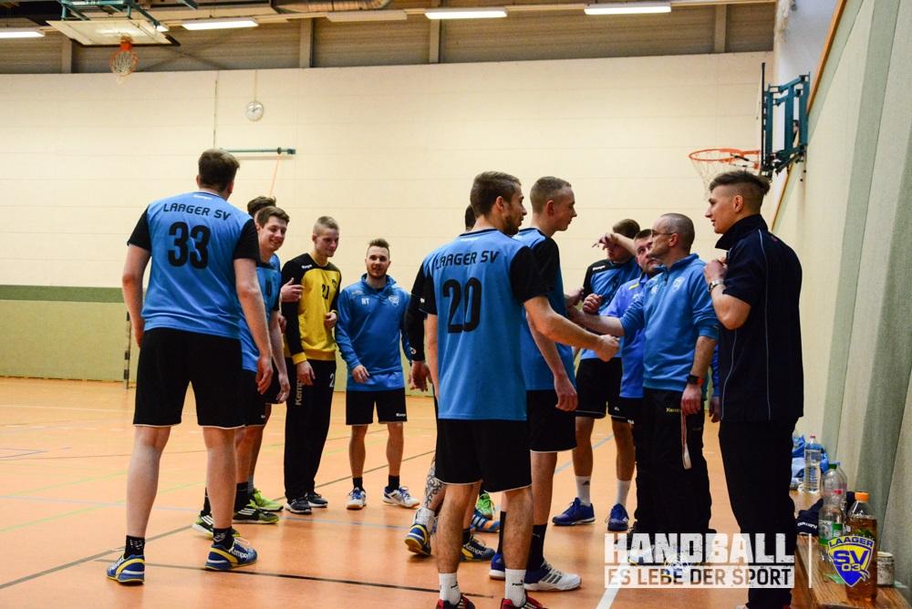 Laager SV 03 Handball Männer - HSG Warnemünde