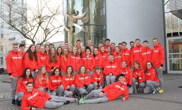 Das Deutsche Olympische Jugendlager hebt ab nach Korea
