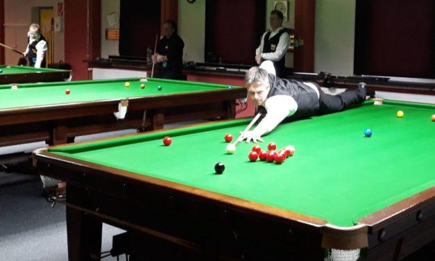 Snooker-Abteilung im Aufwind, Pool mit erneutem Dämpfer