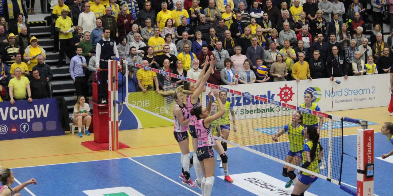SSC gewinnt gegen Casalmaggiore mit 3:1