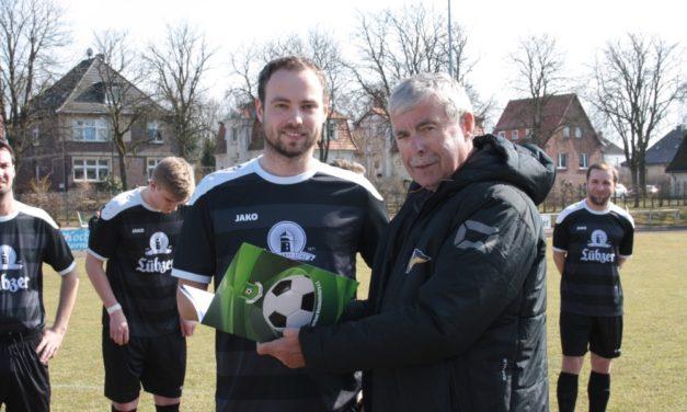 """""""Fußballheld"""" des Lübzer SV ausgezeichnet"""