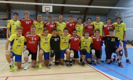 Erster Platz beim internationalen Volleyballturnier in Odense/ Dänemark