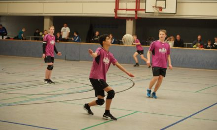 Faustball: Platz 5 bei der DM U14m für den GSC