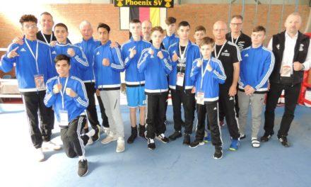 46.Deutsche Juniorenmeisterschaften im Boxen 2018