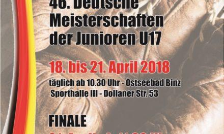 46. Deutsche Juniorenmeisterschaften im Boxen 2018
