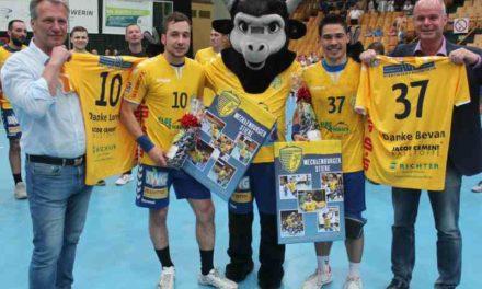 Stiere gewinnen gegen den HSV Hannover 39:33