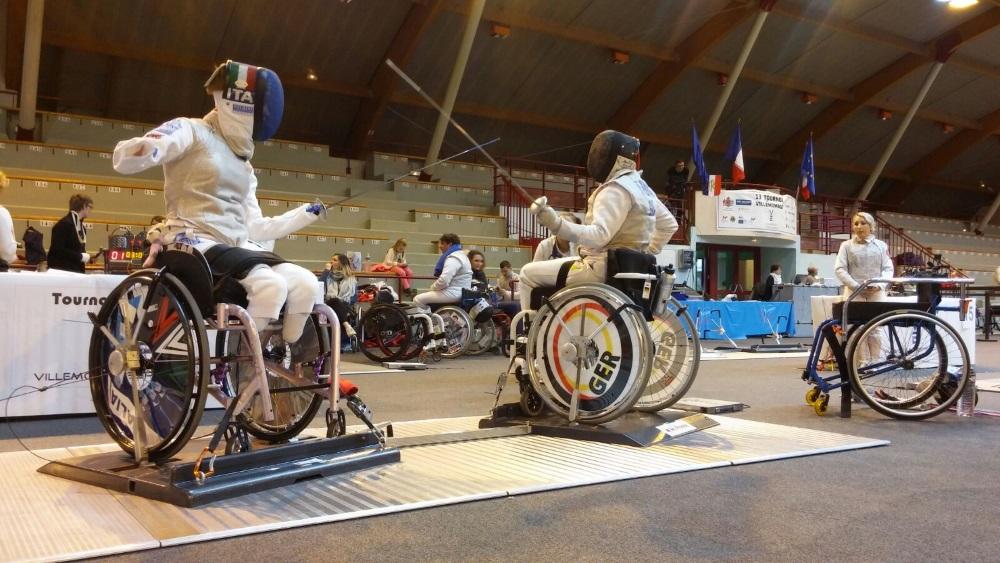 DM im Fechten und Rollstuhlfechten am 26./27.5.2018 in Rostock