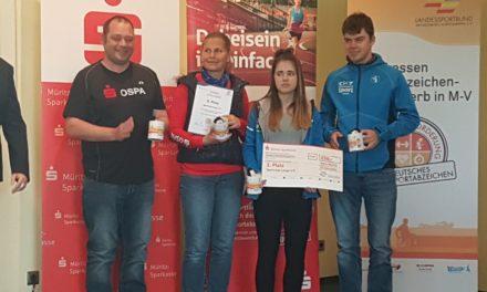 Sportabzeichen Wettbewerb 2017 hat seine Gewinner