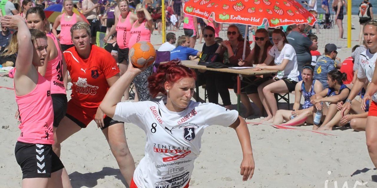 Beachhandball-Tage in Warnemünde wieder mit Rostocker Beach Club