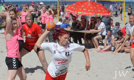 Beachhandball-Tage in Warnemünde wieder mit Rostocker Beach Club