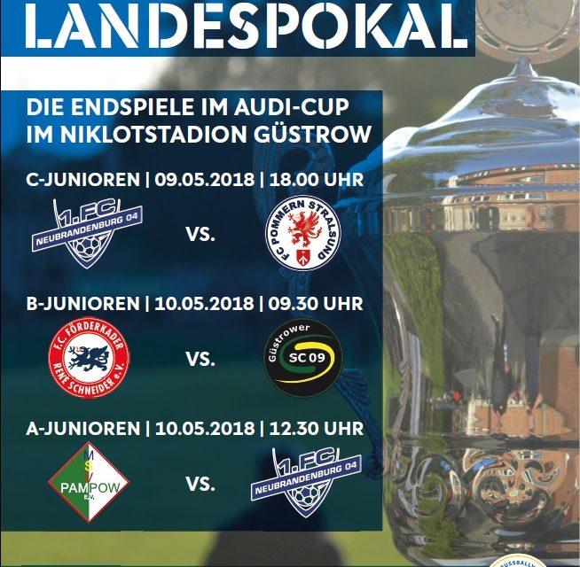 Audi-Cup: Spannende Endspiele am 9. & 10. Mai in Güstrow erwartet
