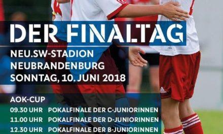 Neubrandenburg ist Schauplatz für Pokalfinals der Frauen und Juniorinnen