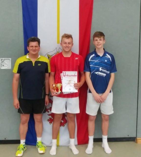 Fabian Bebernitz holt Bronze und Gold