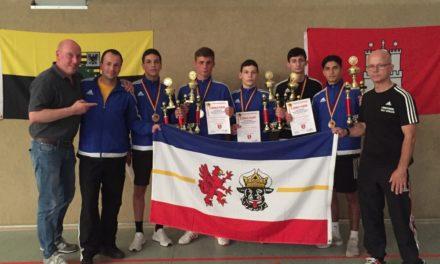 Ein Deutscher Meistertitel und drei Silbermedaillen für den Boxclub TRAKTOR