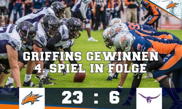 Griffins mit viertem Sieg in Folge