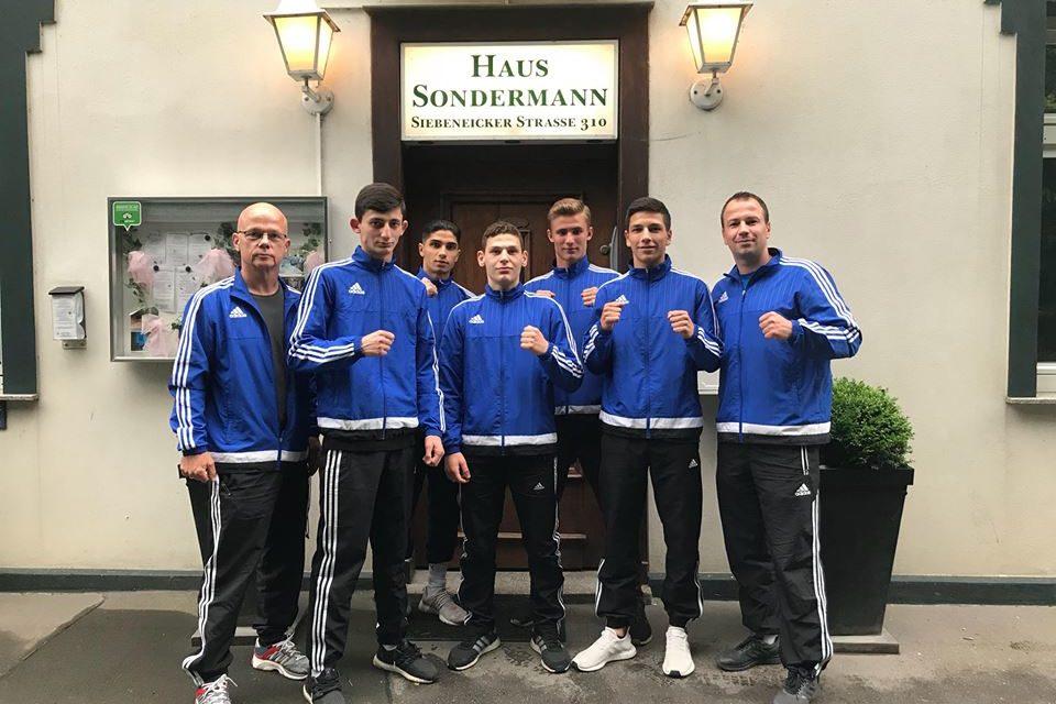 TRAKTOR stellt vier Finalisten bei der U19 Deutschen Meisterschaft